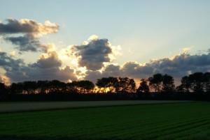 mooie wolken partij